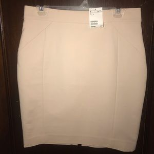 HM tan Skirt size 12